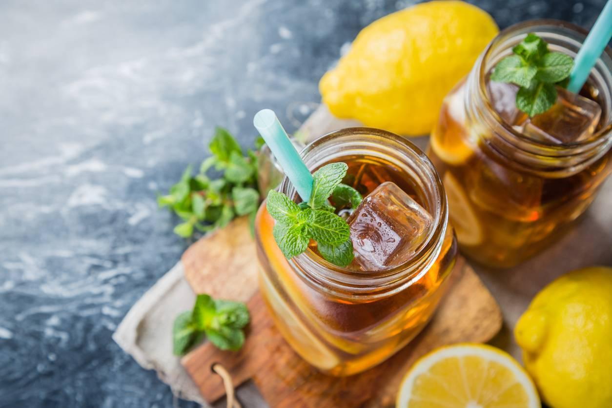 bienfaits du thé glacé