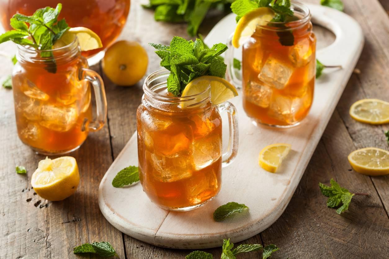 comment préparer du thé glacé